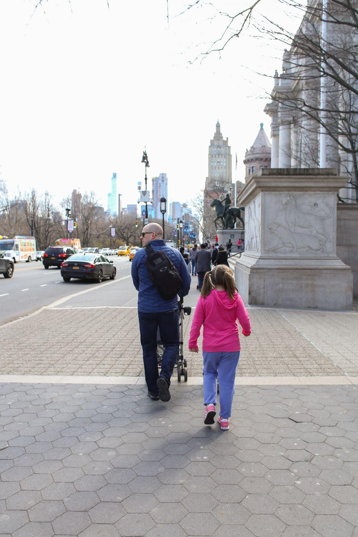 Walking to the American Museum of Natural History