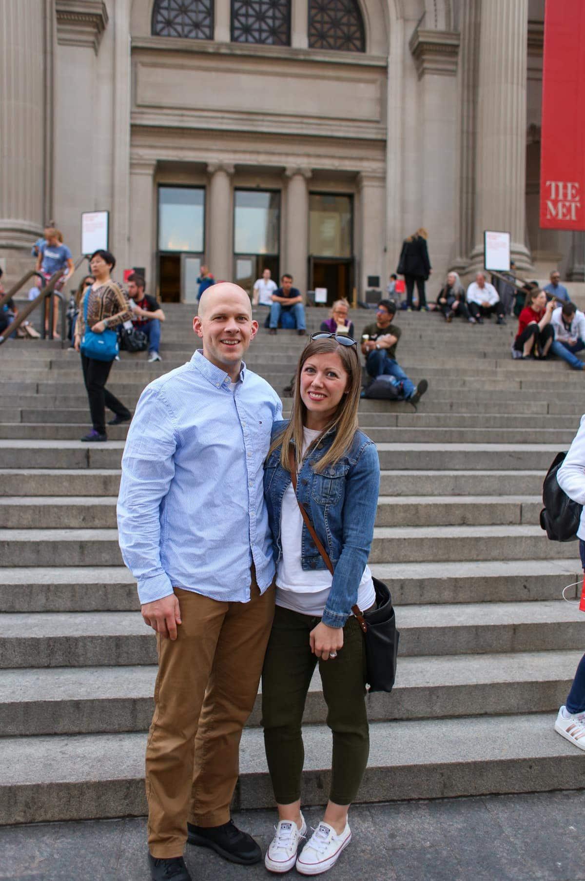 Lauren and Gordon at the Met