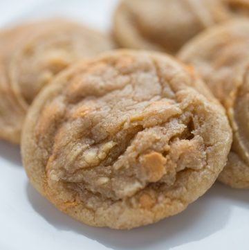 Cinnamon Butterscotch Cookies