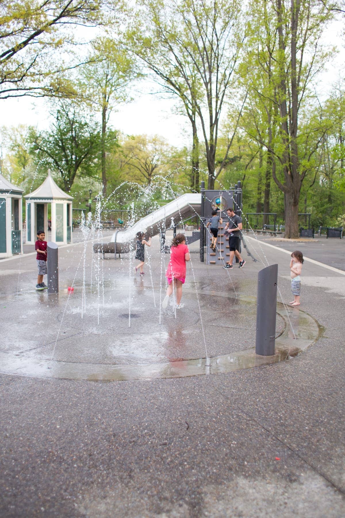 Kids at a playground