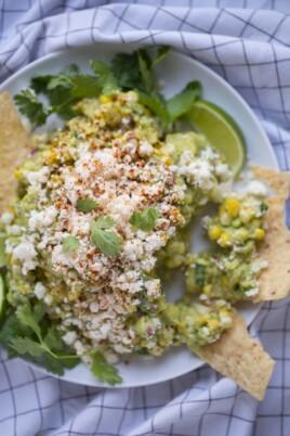 Mexican Street Corn Guacamole