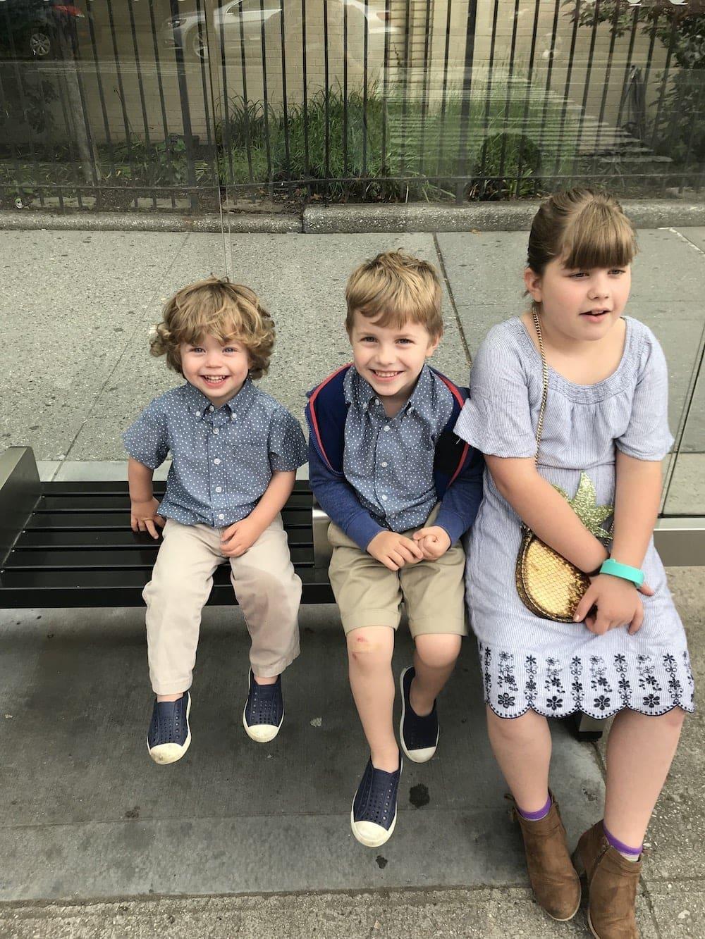 Brooke, Blake and Eddie