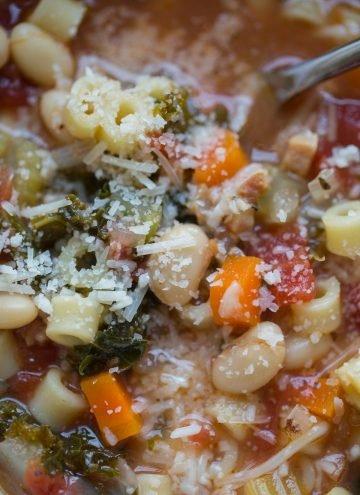 Pasta Fagioli Recipe with Kale