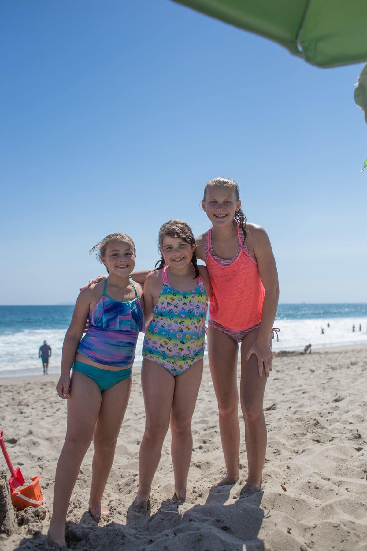 Brooke and friends at the beach