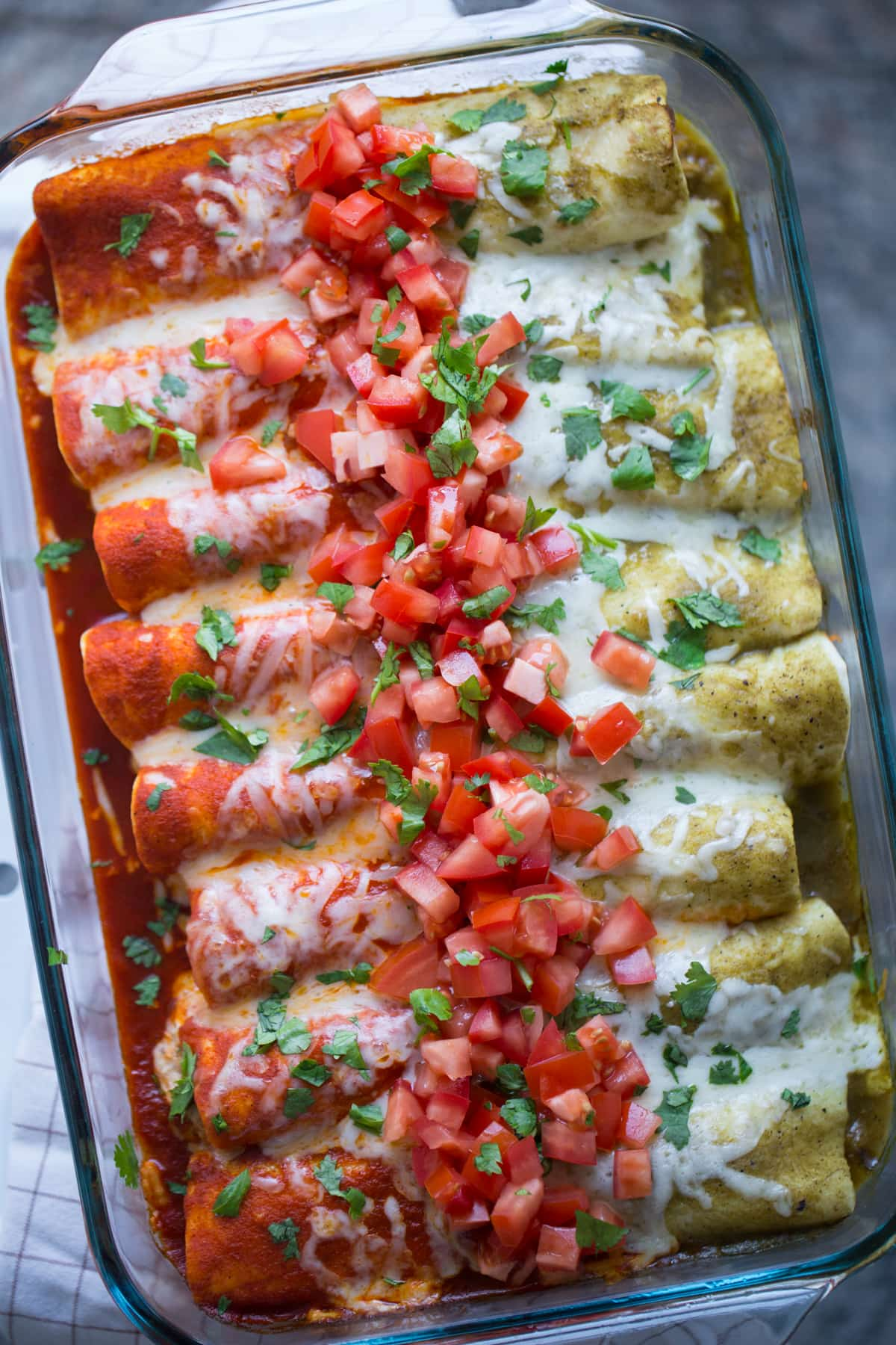 Red And Green Enchiladas Video Lauren S Latest