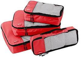 4-piece packing cubes set