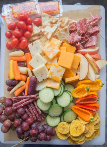 After School Snack Board