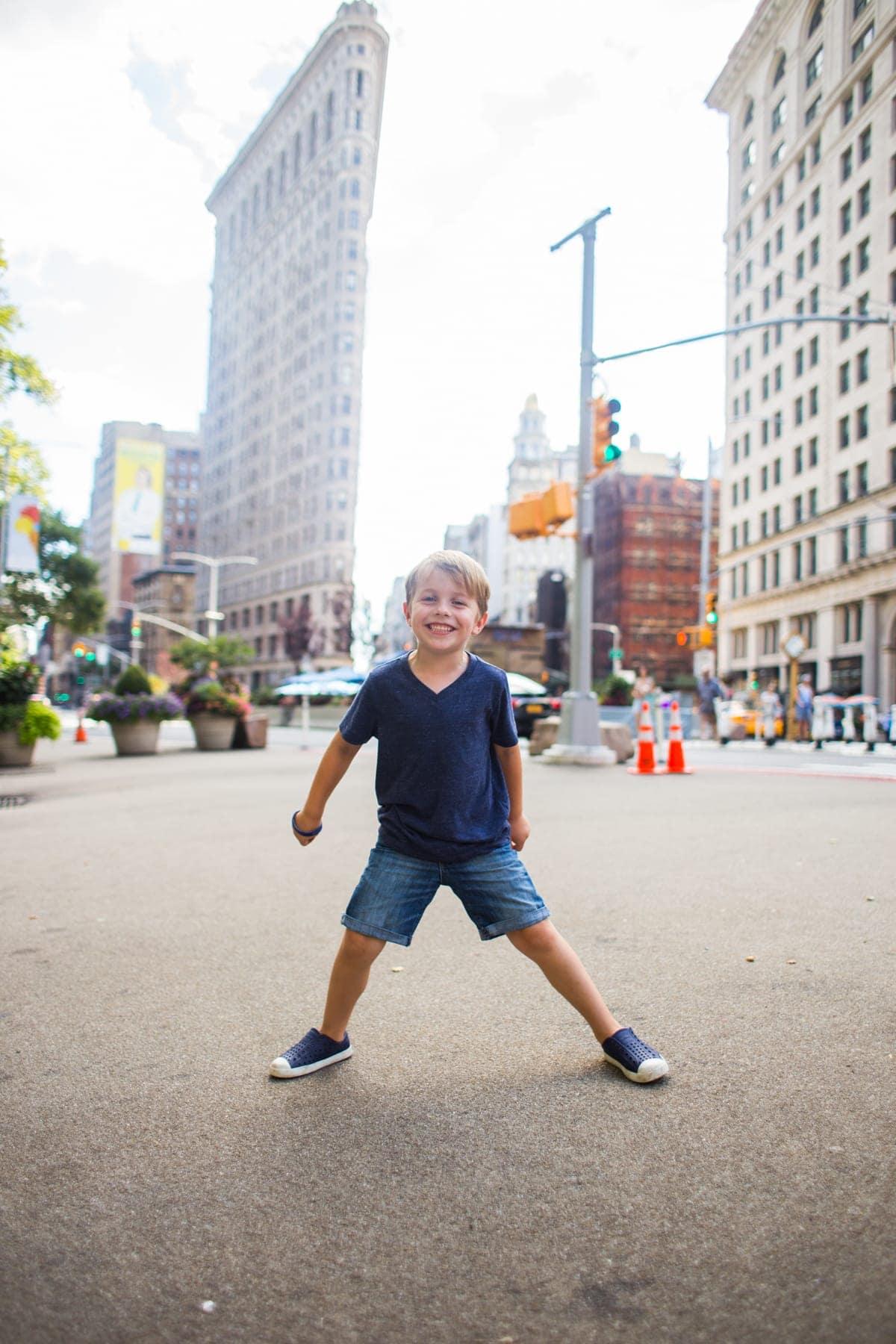 Blake in the street