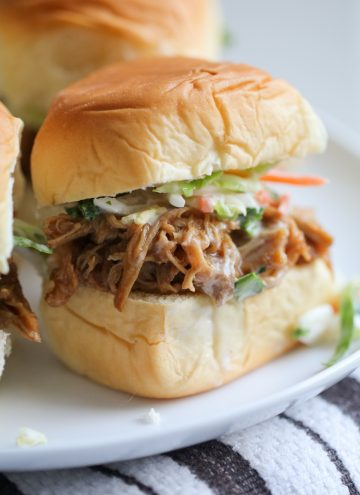 Easy BBQ Pulled Pork