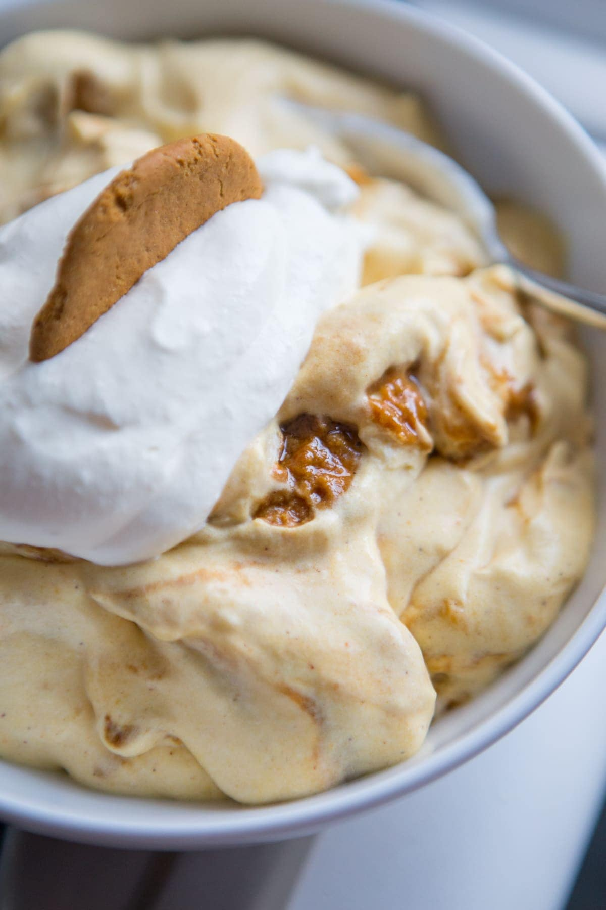 Magnolia Bakery Pumpkin Gingerbread Banana Pudding