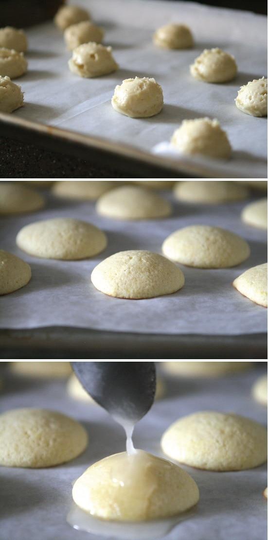 Glazing Lemon Cookies