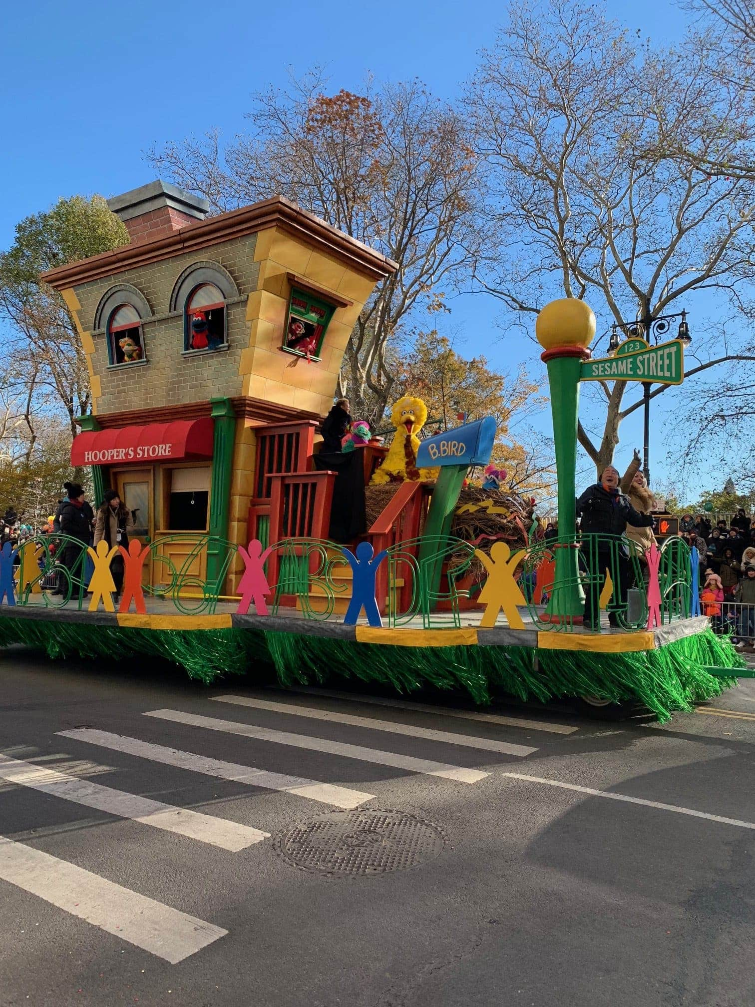 Thanksgiving Day Parade Float