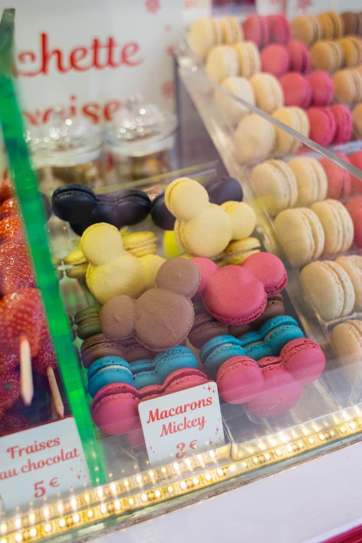 Macarons Mickey