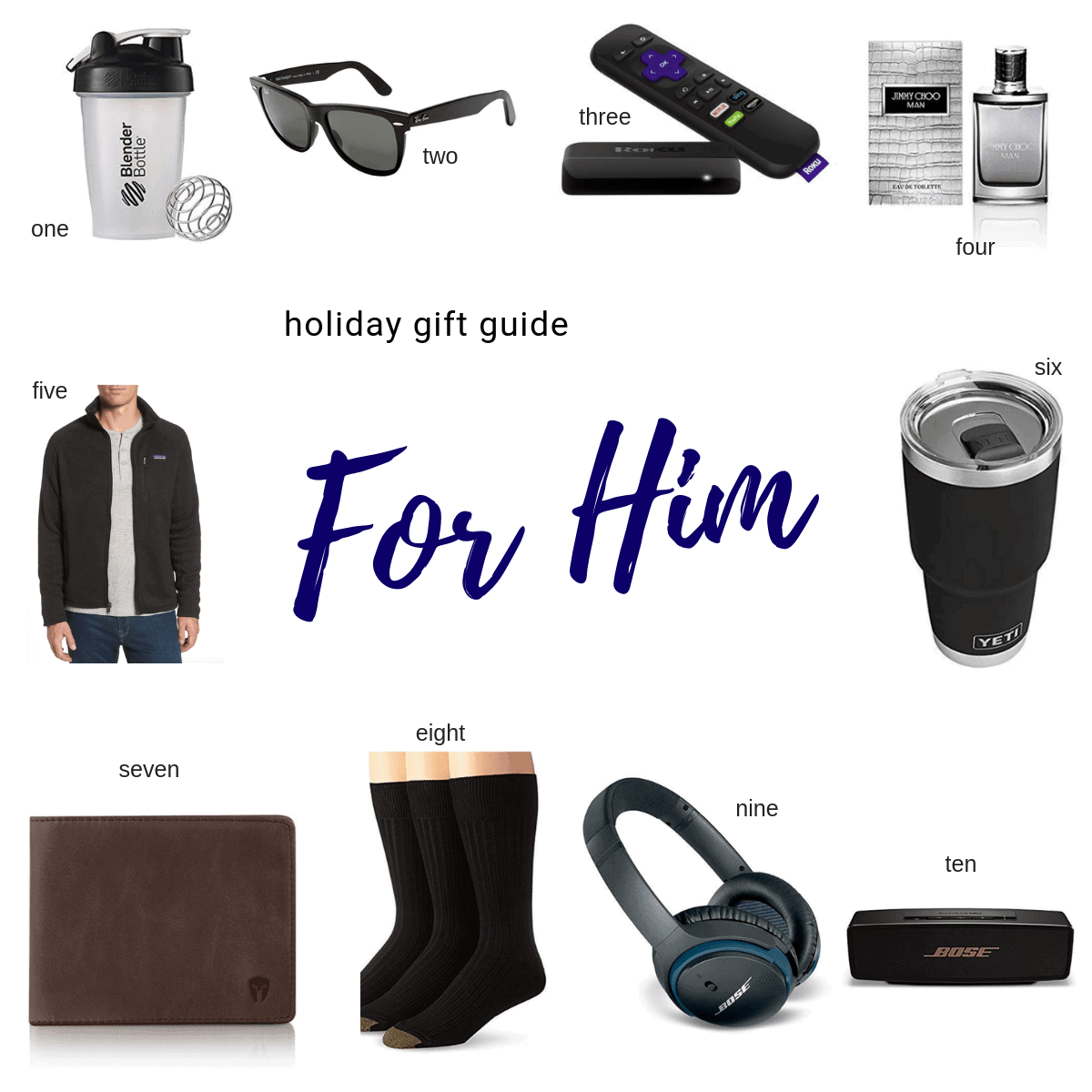 For him gift guide items
