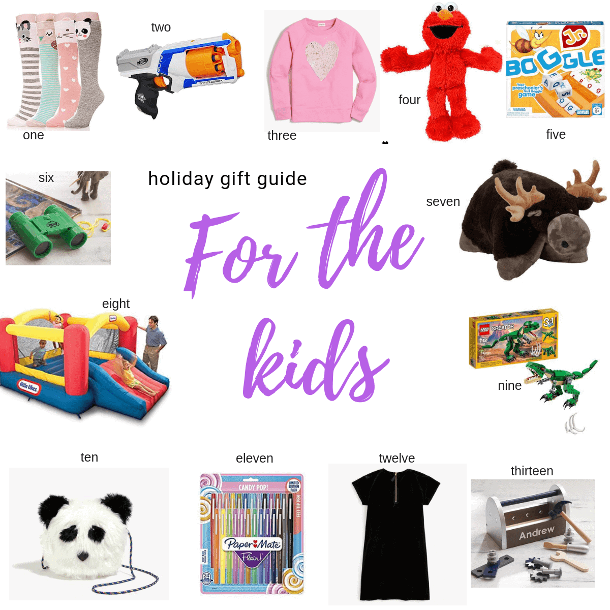 for the kids gift guide items