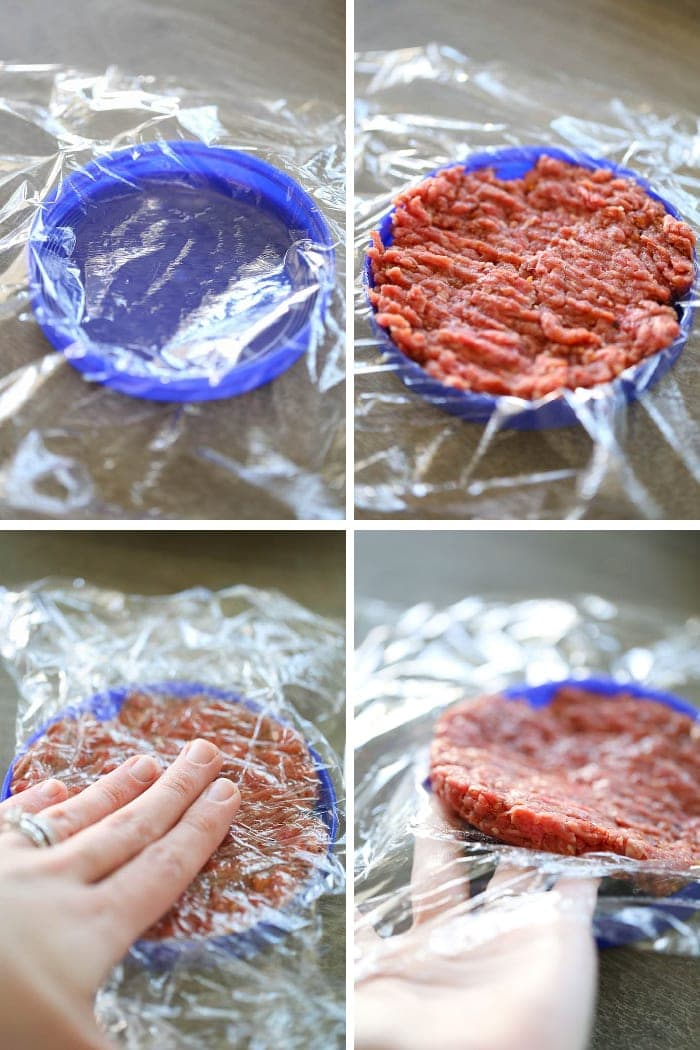 How to form a hamburger pattie
