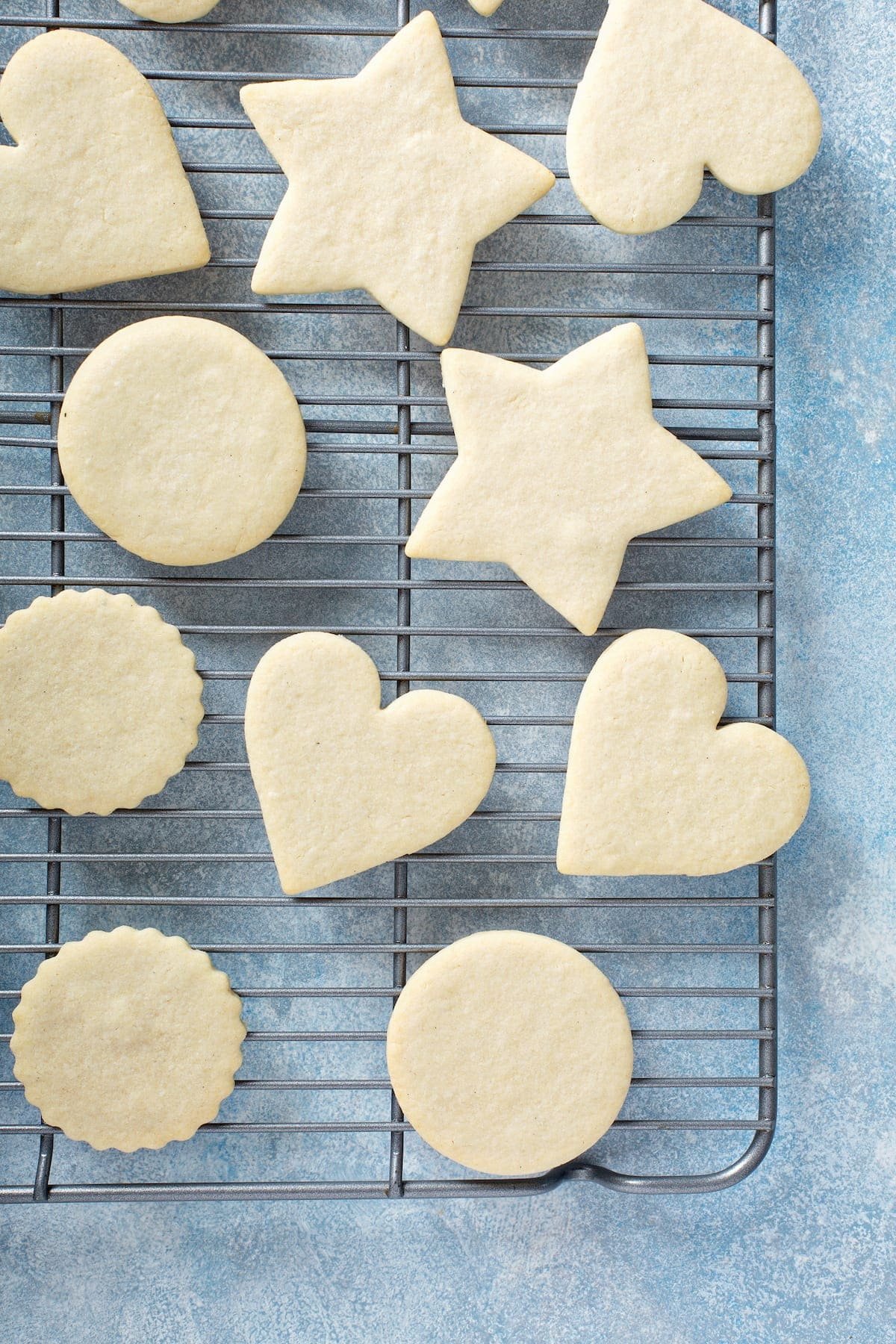 Baked sugar cookies