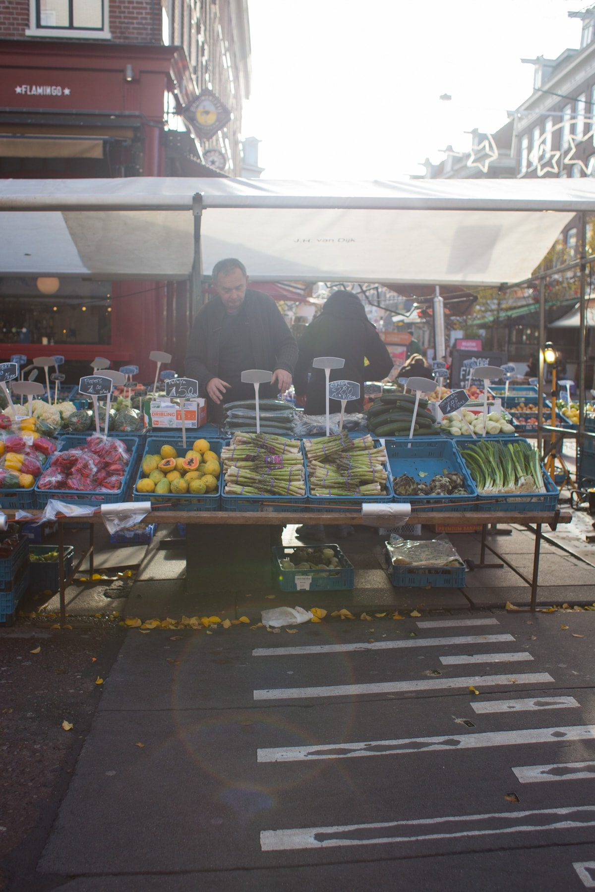 Farmers Market in Amsterdam