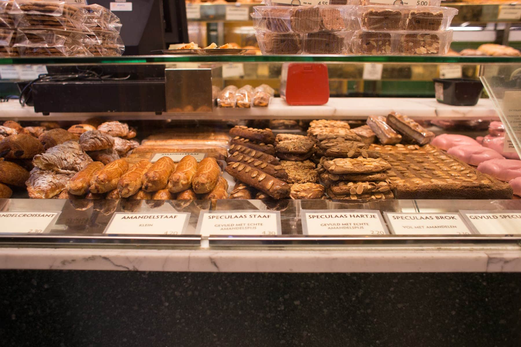 Amsterdam bakery display