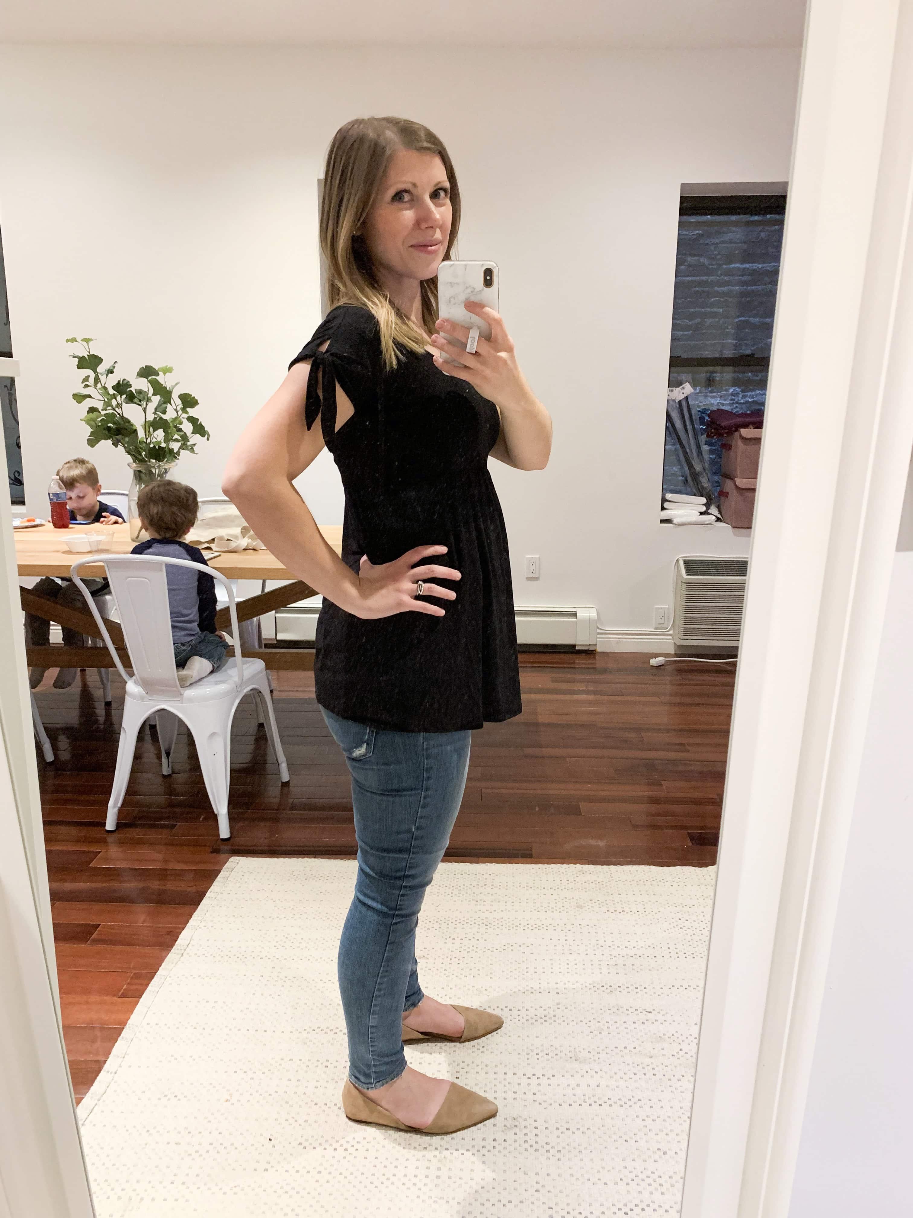 Lauren mirror picture