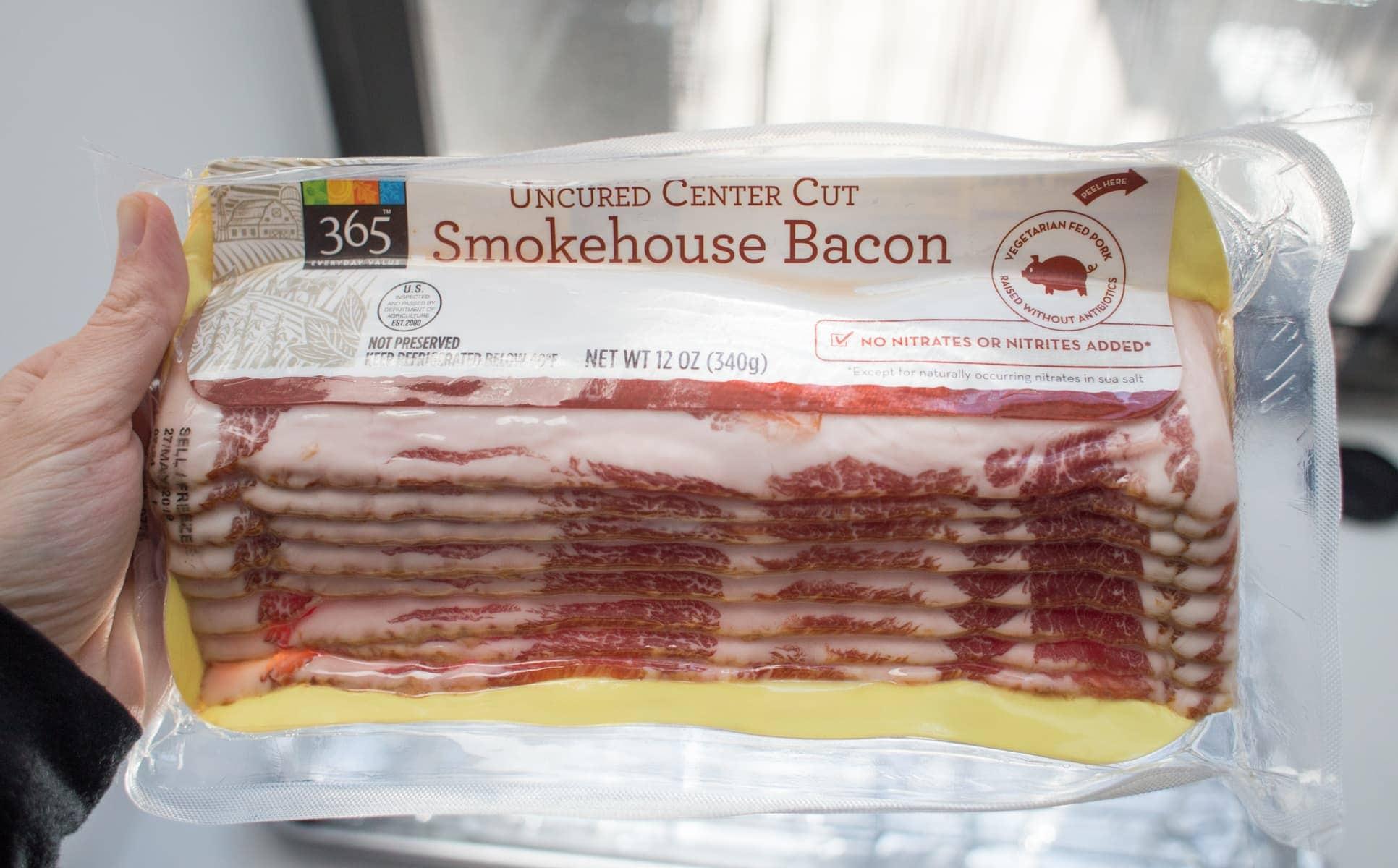 bacon in package