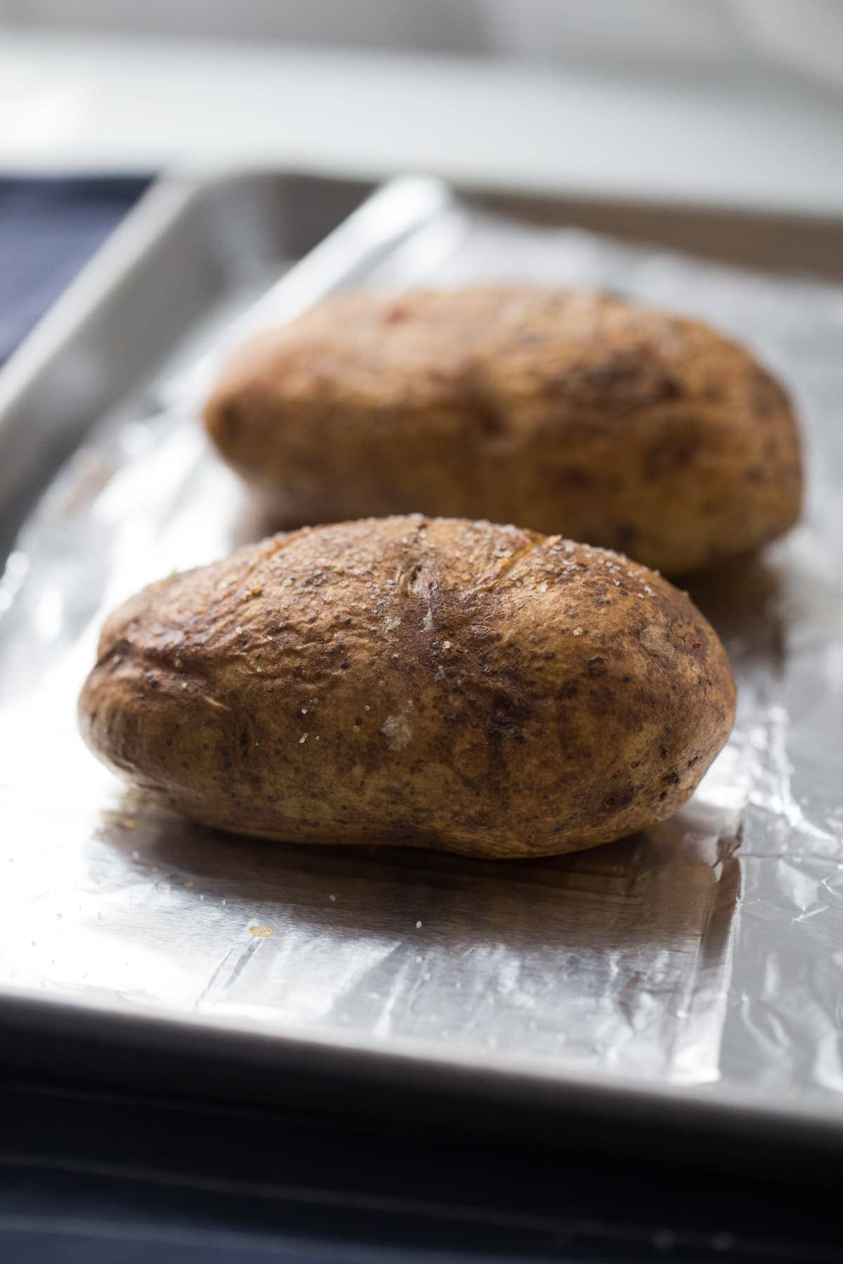 crispy skin baked potato