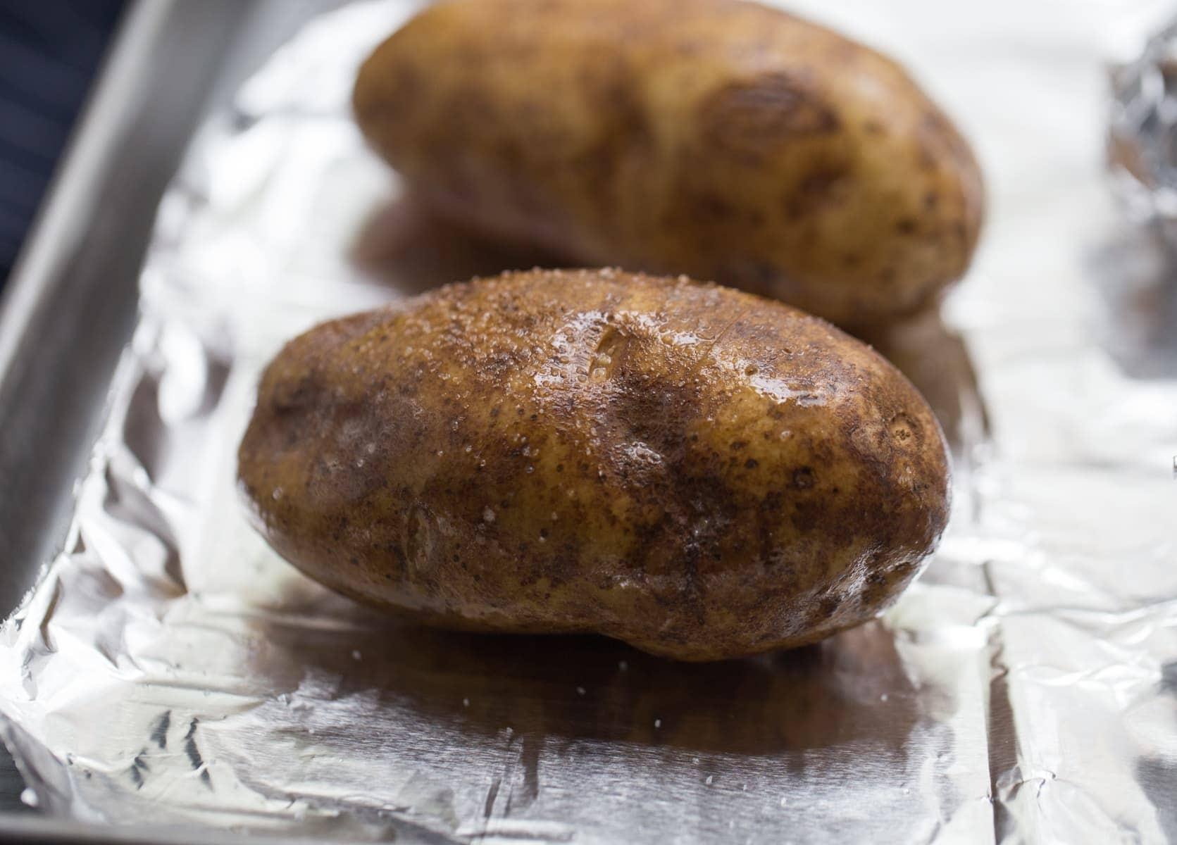 potato ready for baking