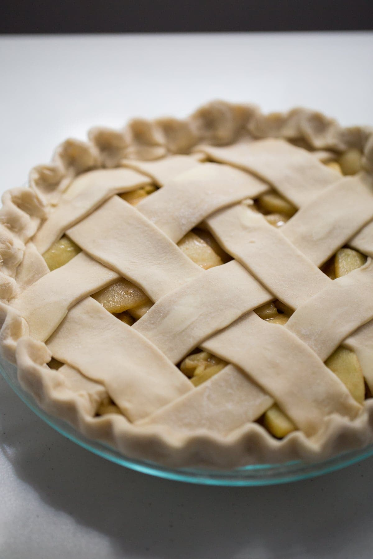 unbaked apple pie recipe