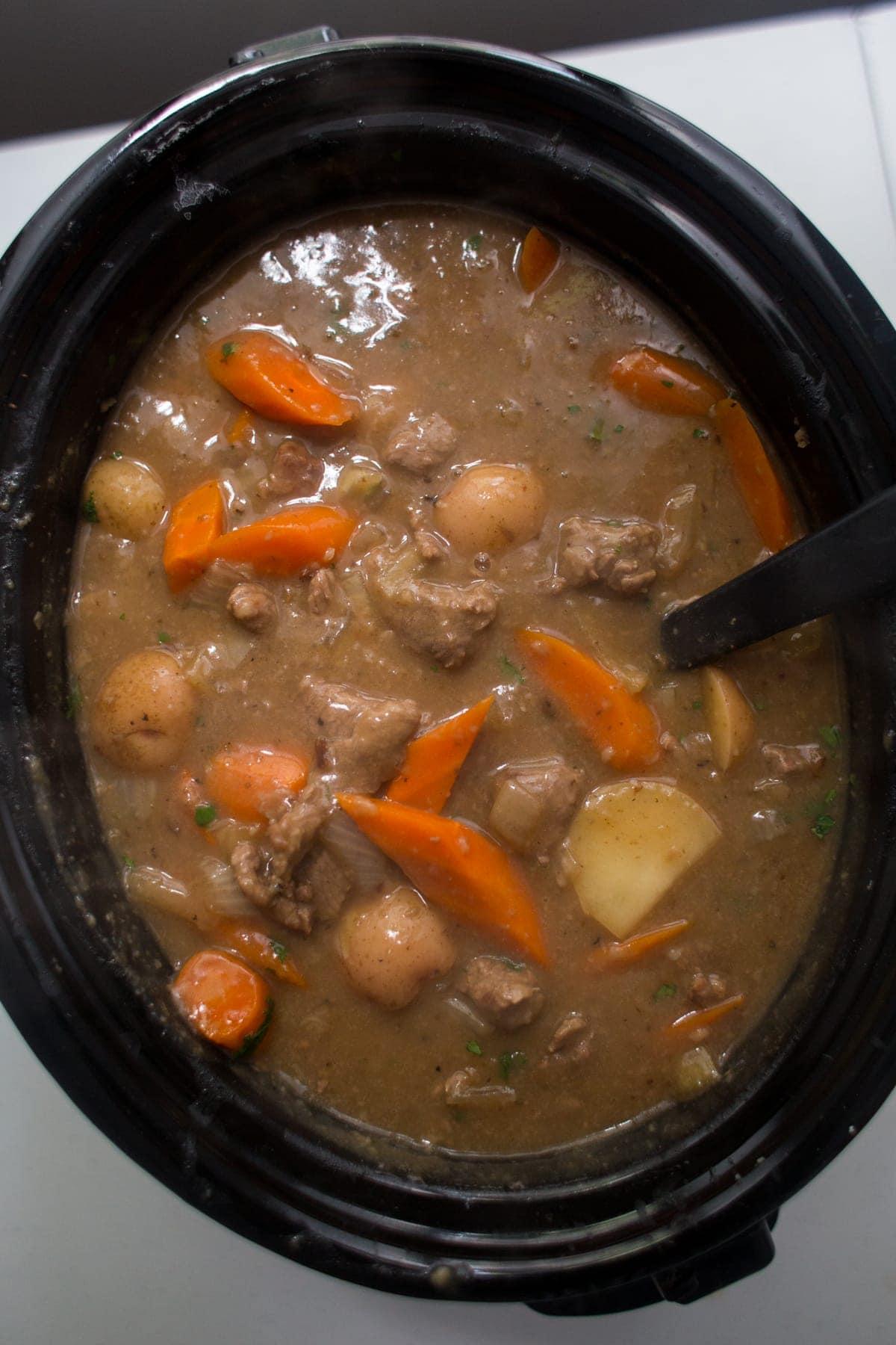beef stew crockpot