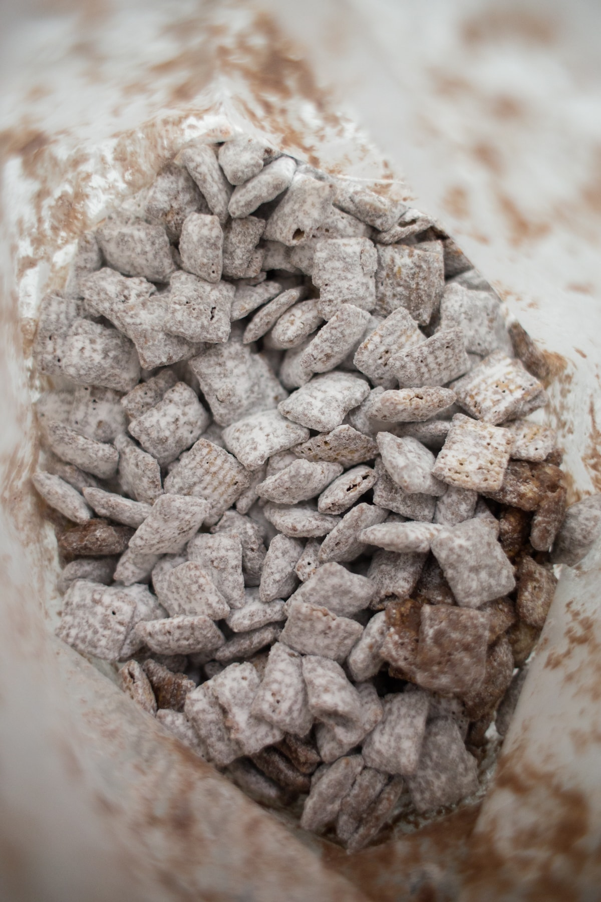 Puppy chow in a bag