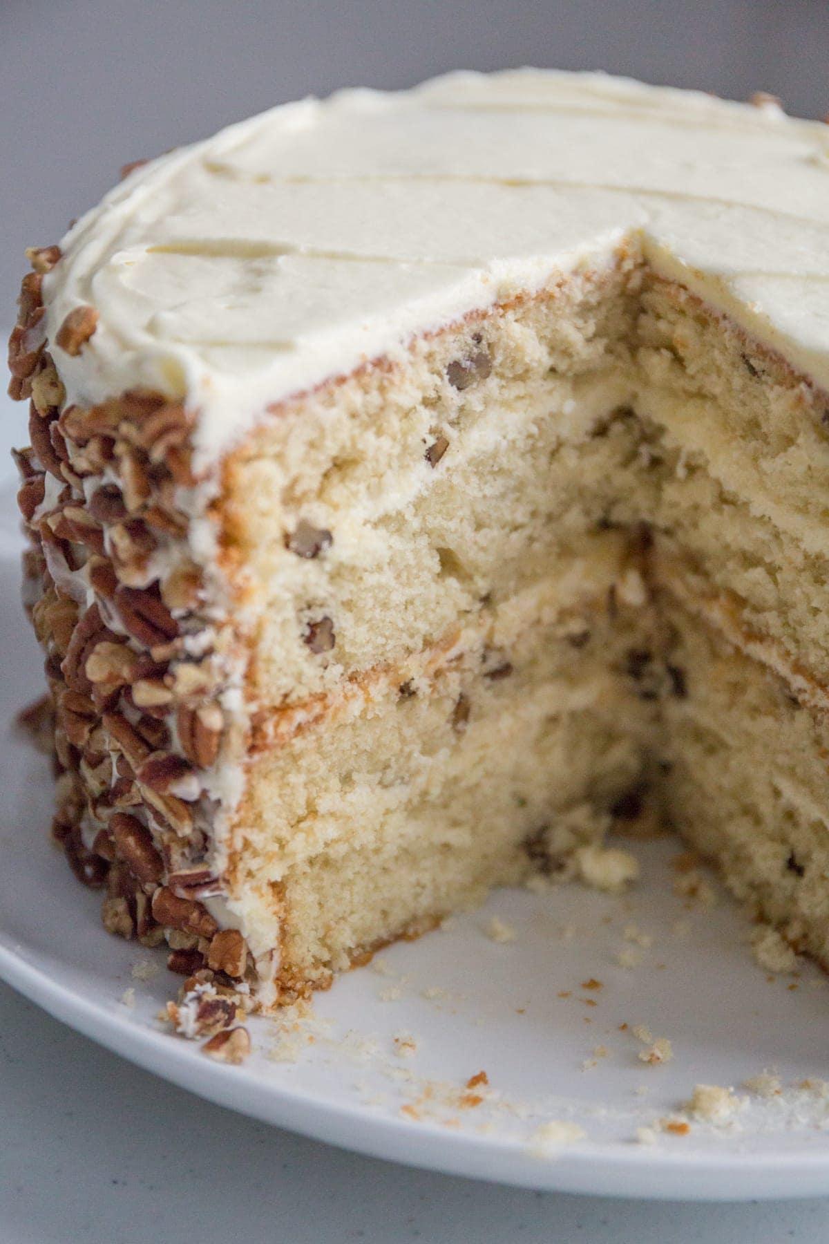 Terrific Amazing Italian Cream Cake Laurens Latest Personalised Birthday Cards Beptaeletsinfo