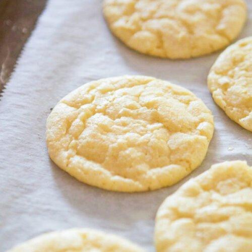 Ricetta Lemon Cookies.Lemon Crinkle Cookies Lauren S Latest