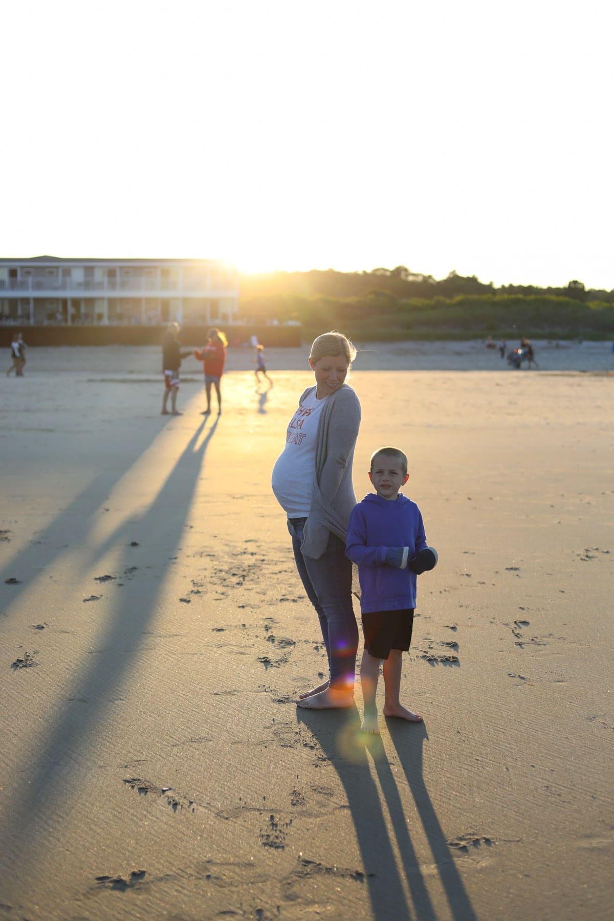 Lauren and Blake at the beach