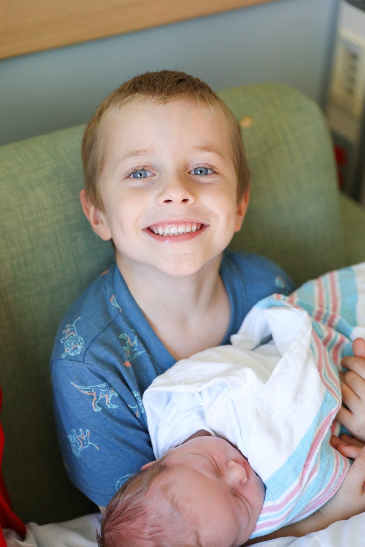 Blake holding Porter