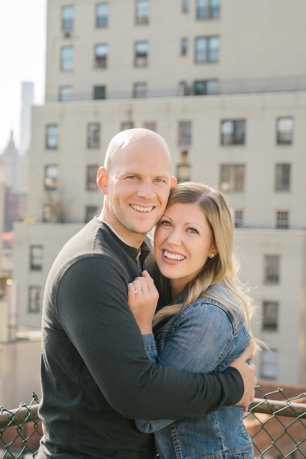 Gordon and Lauren