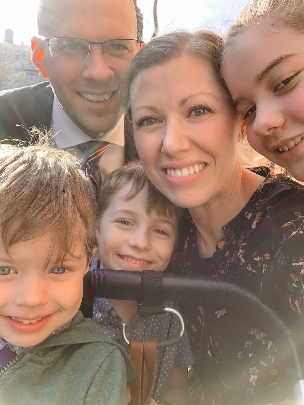 Brennan Family Selfie