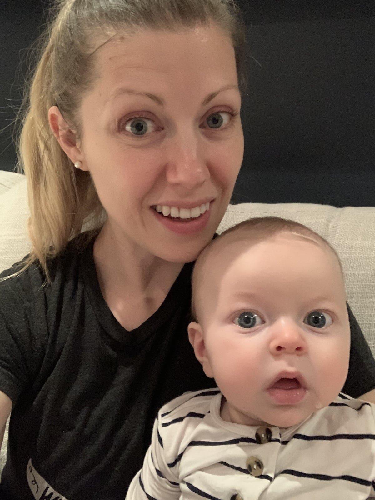 Lauren and Porter selfie