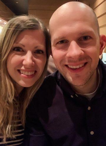 Lauren and Gordon selfie