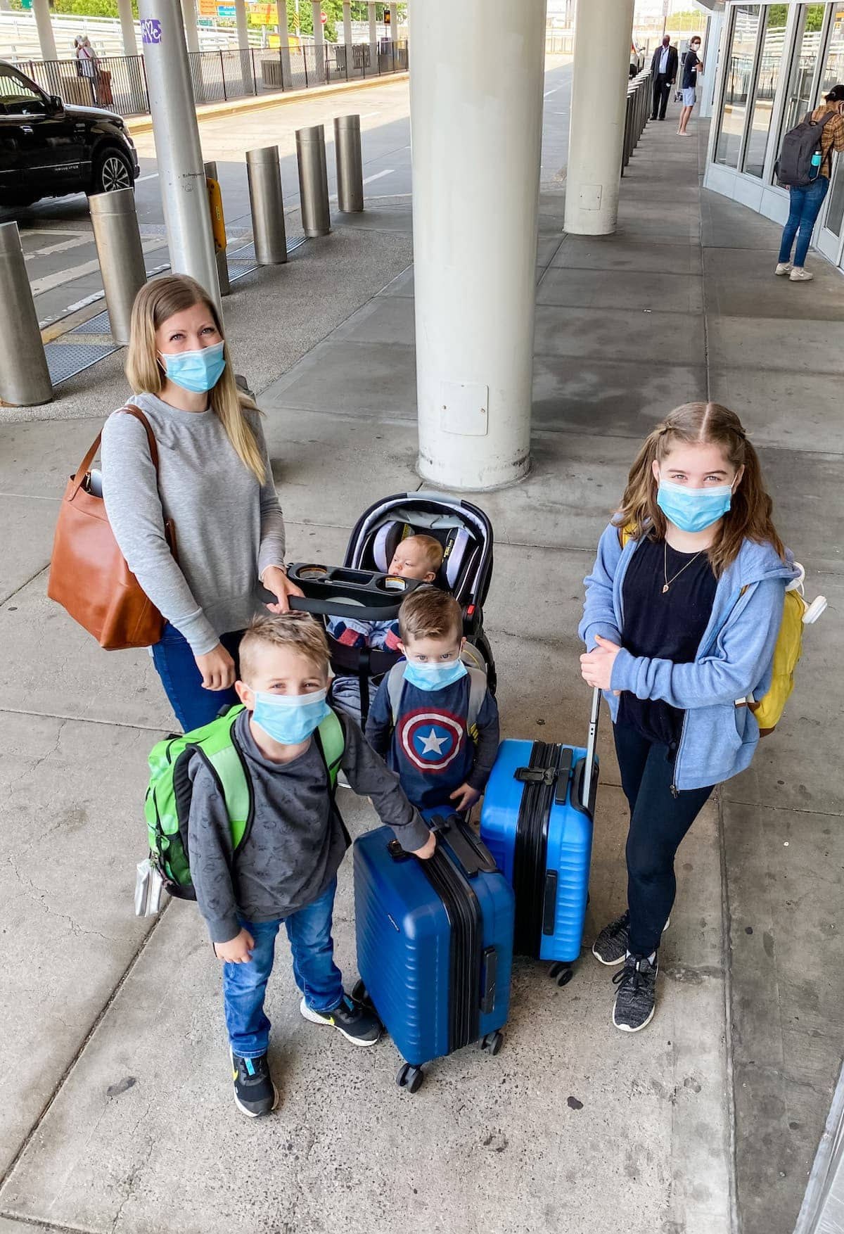 airport in masks!