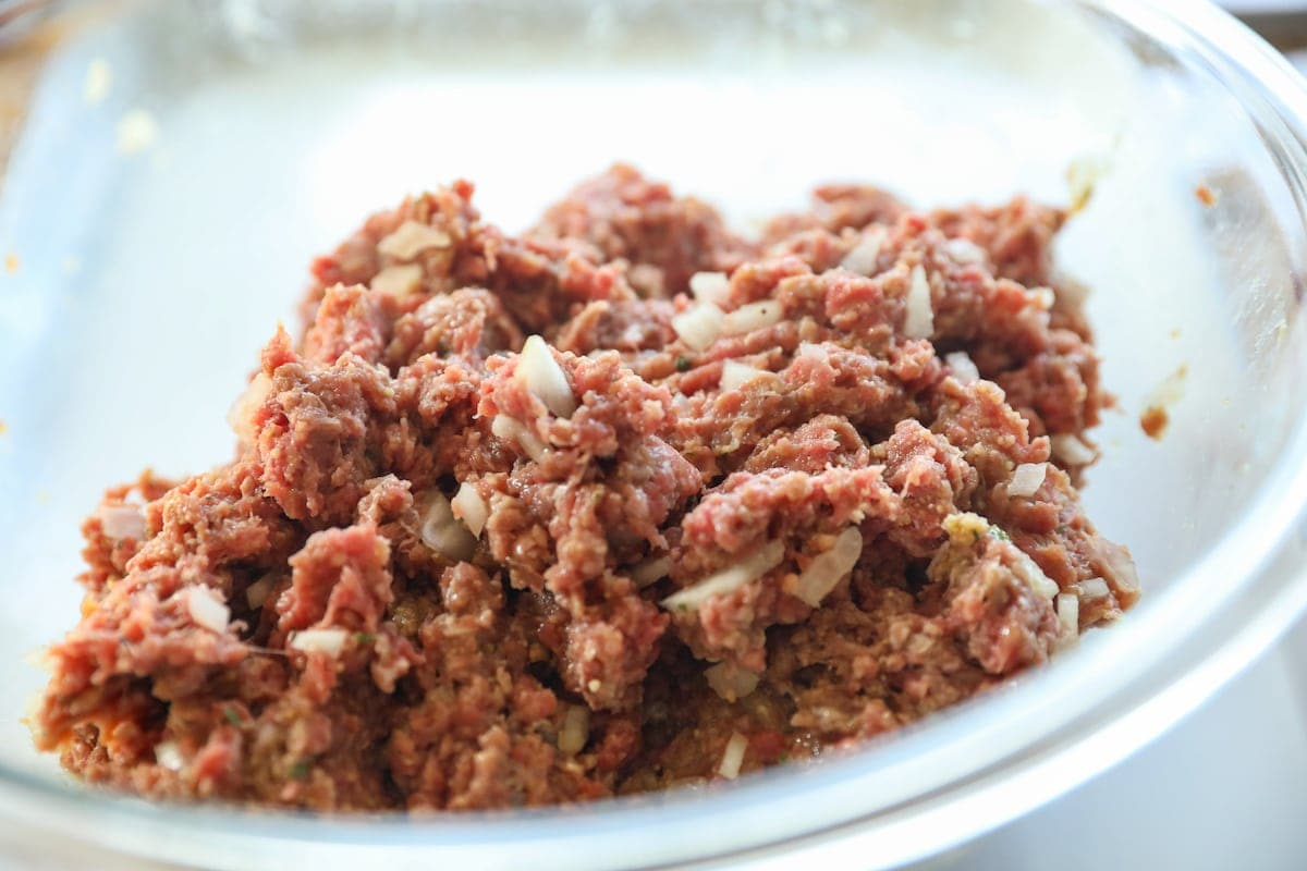ground beef mixture