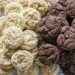 chocolate and vanilla cake mix cookies