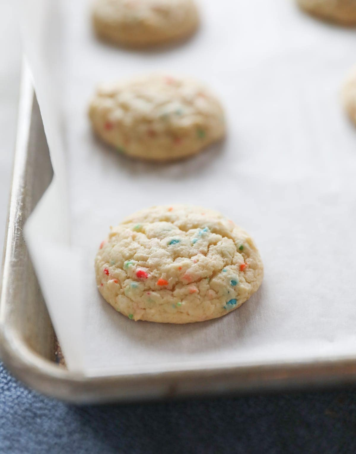 baked cake mix cookies