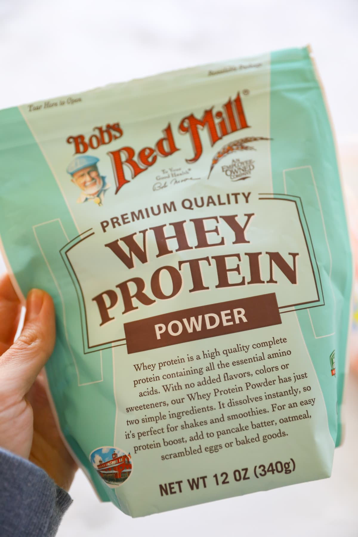 when protein bob's red mill