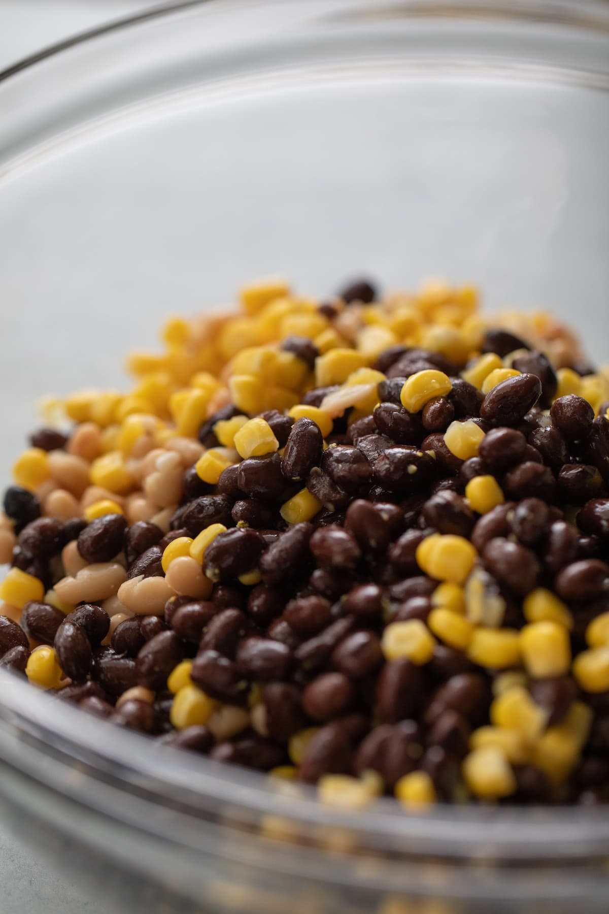 beans and corn in bowl