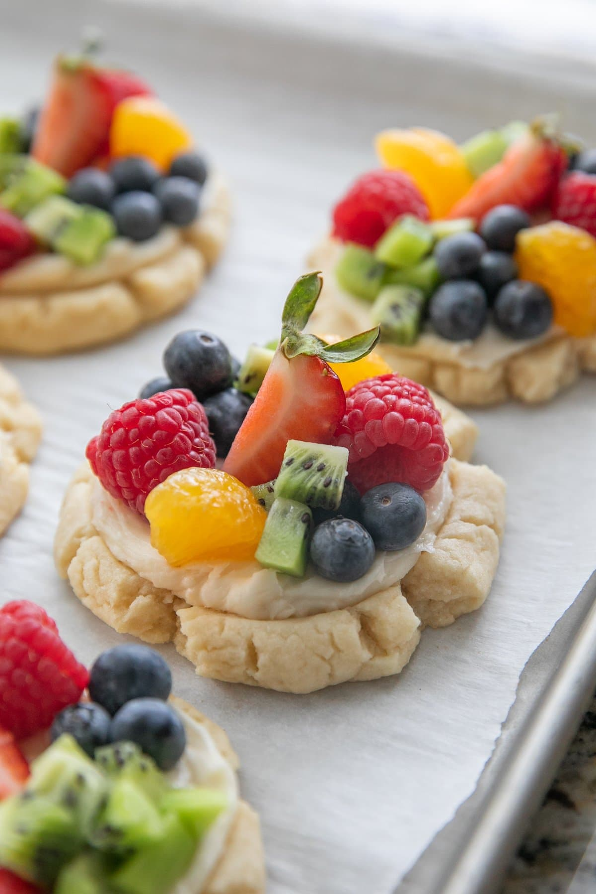 Fruit Pizza Cookies Recipe