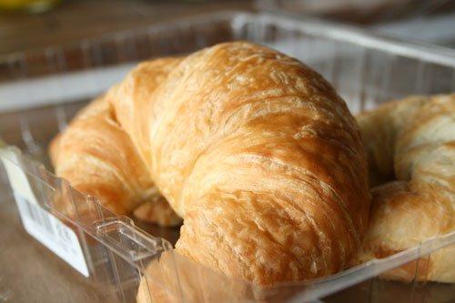 uncut croissant